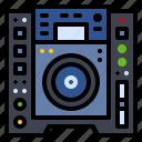 audio, dj, music, player, studio