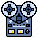 audio, magnetophone, music, studio, tape