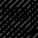 audio, connector, jack, music, studio icon