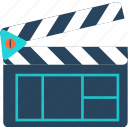 camera, film, media, movie, play, technology, video icon