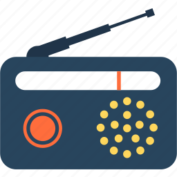 chat, communication, message, radio, screen, technology icon