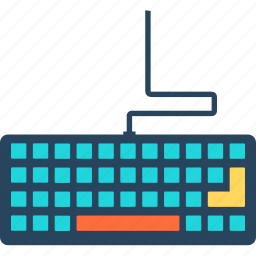 computer, desktop, device, keyboard, laptop, monitor, technology icon