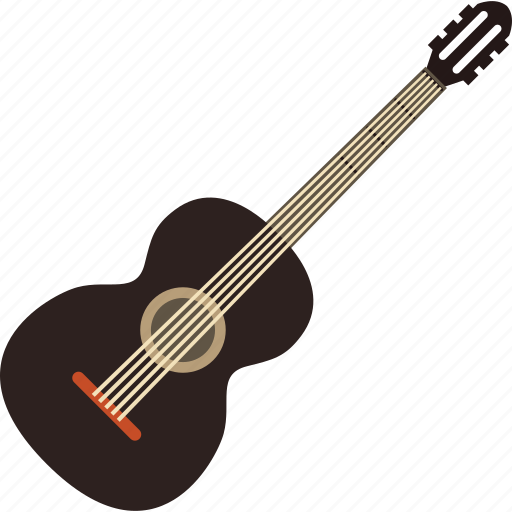 guitar, melody, music, musical, player, sound, volume icon
