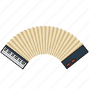 instrument, melody, music, musical, play, player, song icon