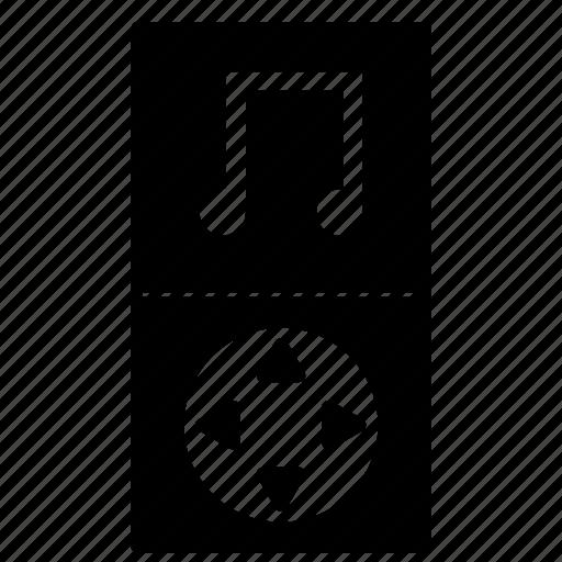 audio, control, music, player, volume icon