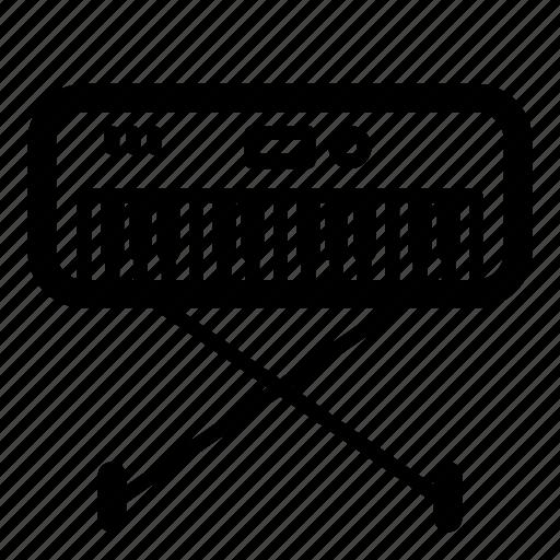 instrument, midi, multimedia, music, musical, piano, synthesizer icon