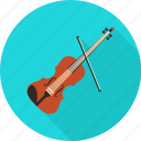 instrument, music, musical, player, sound, speaker, violin icon