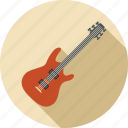 guitar, instrument, music, musical, sound, volume icon
