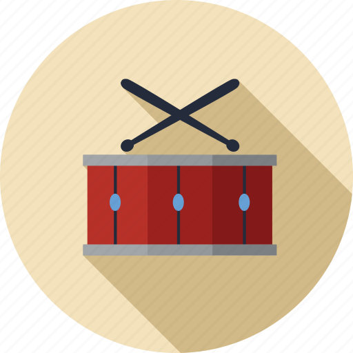 drum, instrument, music, musical, play, player, sound icon