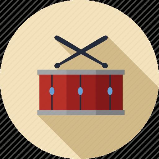 Instrument, musical, drum, music, play, player, sound icon - Download on Iconfinder