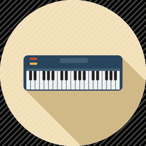 instrument, music, musical, organ, piano, sound icon