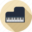 instrument, musical, music, piano, play, sound