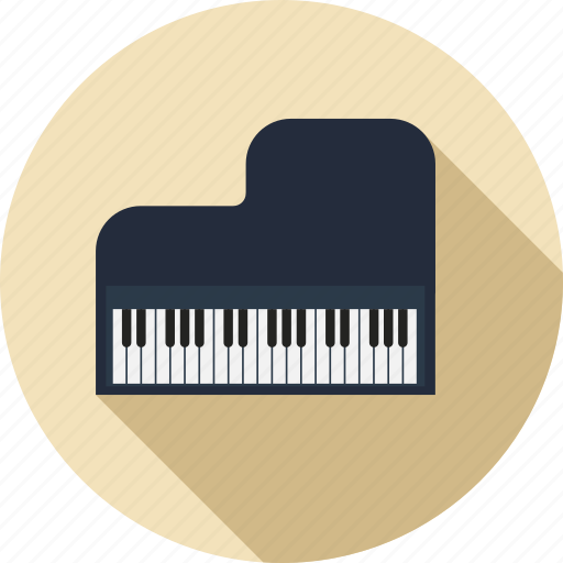 instrument, music, musical, piano, play, sound icon