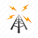 broadcast, frequency, music, radio, signal, wave icon