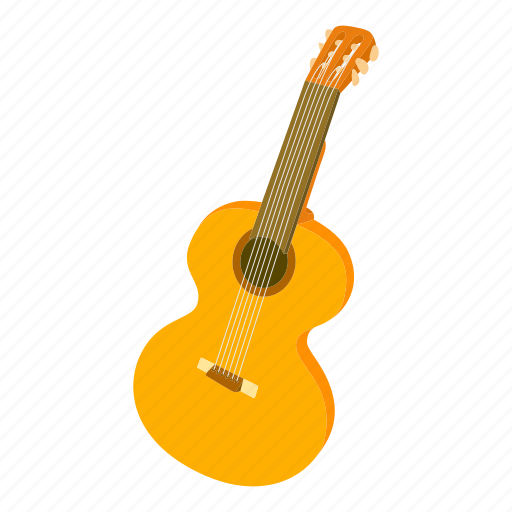 art, cartoon, classic, electric, guitar, instrument, sound icon