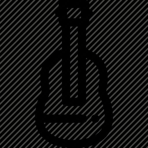 acoustic, guitar, violin icon