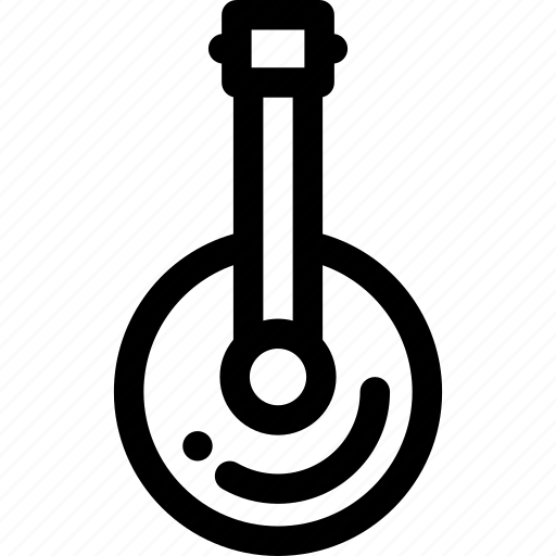 folk, instrument icon