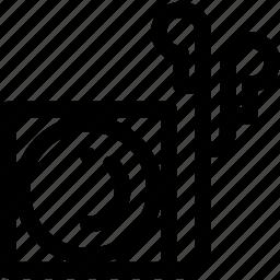 ipod, mp4 icon