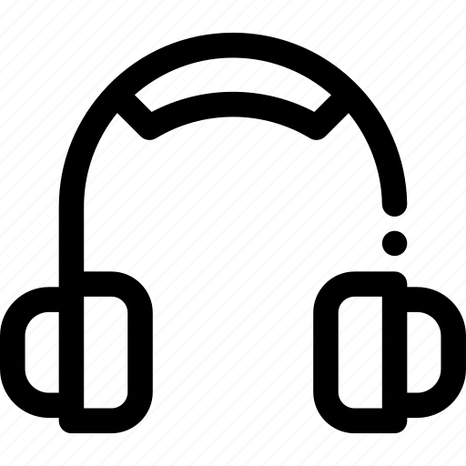 headphone, headset, music, player icon