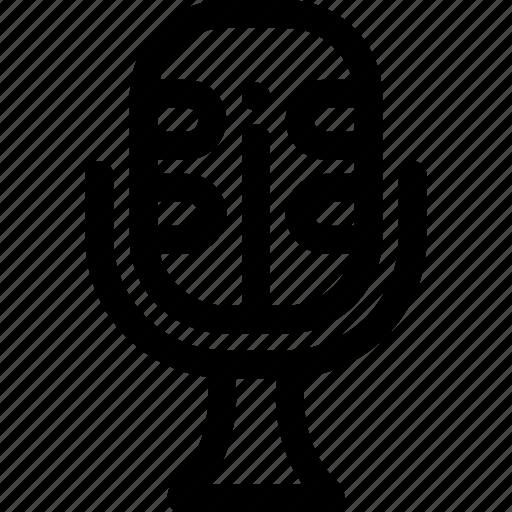 microphone, radios icon