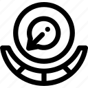 tuner, volumetrical icon