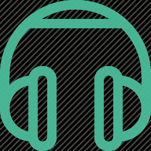 audio, headphones, headset, listen, music icon