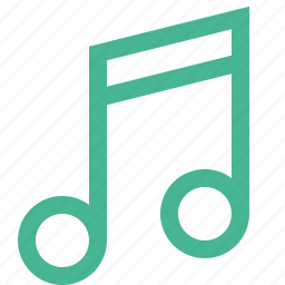 audio, music, musical, note, notes, sound icon