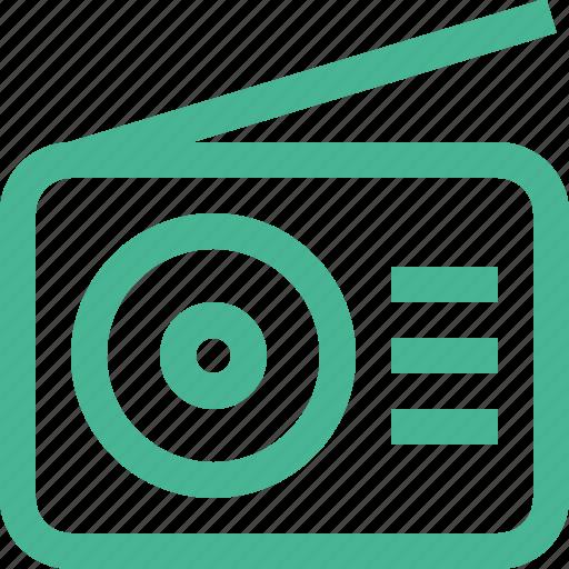 audio, music, play, player, radio, sound icon