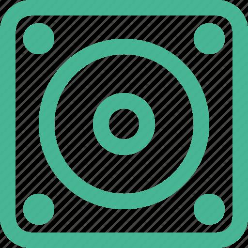 audio, music, player, sound, speaker icon