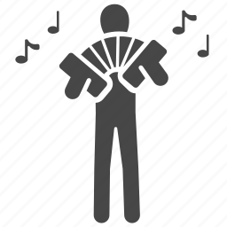 accordion, aerophones, bagpipe, instrument, music, musical instrument, musician icon