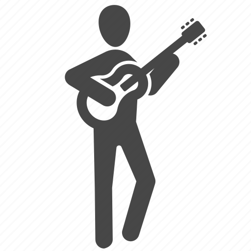 acoustic, classical guitar, folk song, guitar, instrument, music, musician icon