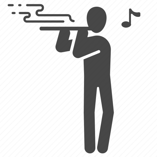 flute, melody, music, musician, orchestra, piper, song icon