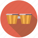 bongos, drum, instrument, music, percussion, rhythm, sound icon