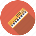 electric organ, instrument, keyboard, music, organ, sound, synthesizer icon