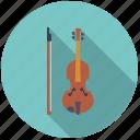 bow, instrument, music, sound, string, violin