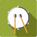 bass, drum, instrument, mallet, music, percussion, sound icon