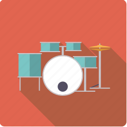 cymbal, drums, drumset, instrument, music, percussion, sound icon