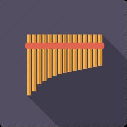 flute, instrument, music, pan, sound, wind icon