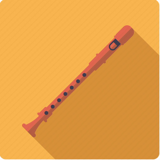 flute, instrument, music, recorder, sound, wind icon