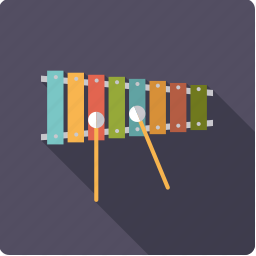 instrument, mallet, music, percussion, sound, xylophone icon