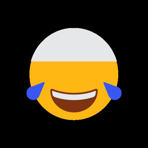 cap, emoji, face, islam, laugh face, muslim, tears of joys icon