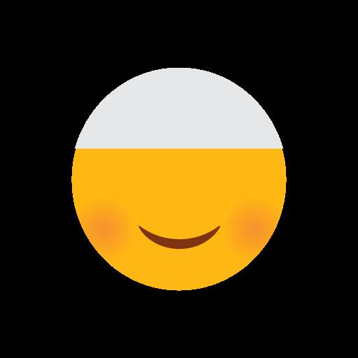 cap, emoji, face, islam, muslim, smilling face icon