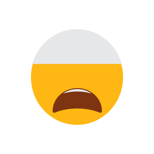 cap, emoji, face, islam, muslim, tired face icon
