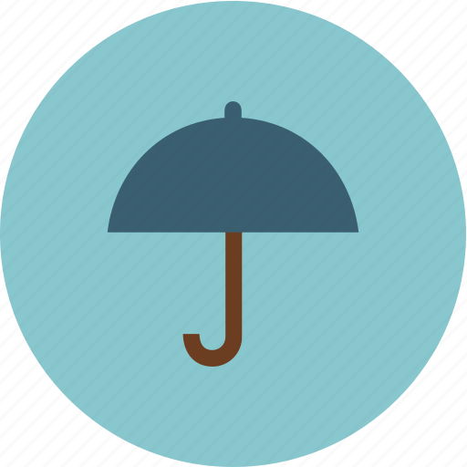rain, snow, umbrella, weather icon