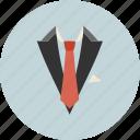 business, office, suit, tie