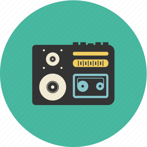 media, music, note, player, recorder, volume icon