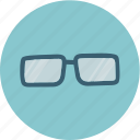 glass, glasses, search, sun icon