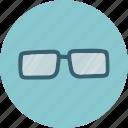 glass, glasses, search, sun icon