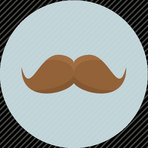 avatar, face, hair, mustache icon