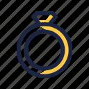 circlet, jewel, ring icon
